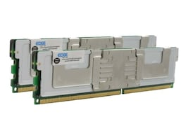 Edge 8GB PC2-5300F 240-pin DDR2 SDRAM DIMM Kit for Select Models, PE20989602, 7511891, Memory