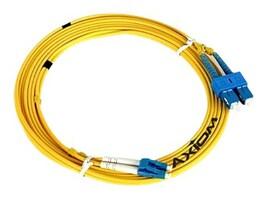 Axiom Fiber Optic Cable, LC-SC, 9 125, Duplex, SM, 7m, LCSCSD9Y-7M-AX, 17733446, Cables