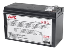 APC Replacement Battery Cartridge 110 for BE550G and BE550R, APCRBC110, 9324378, Batteries - UPS