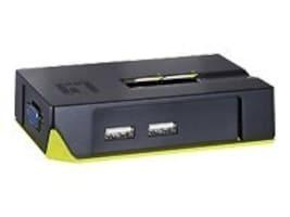CP Technologies 2PORT USB KVM SWITCH WITH AUDI, KVM-0221, 41063379, KVM Switches
