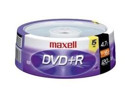 Maxell MAXELL 4.7 GB 16X DVD+R, 639008, 41051409, CD Media
