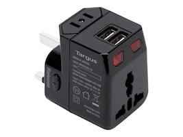 Targus World Travel Adapter w  USB, APK032US, 32897334, AC Power Adapters (external)