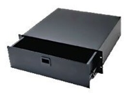 Middle Atlantic D Series Drawer, 3U x 14.5d, Black Anodized Finish, D3, 12207025, Rack Mount Accessories