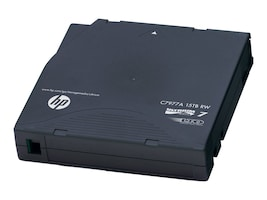 HPE LTO-7 Ultrium Non Custom Labeled Tape Cartridges (20-pack Case), C7977AN, 30985883, Tape Drive Cartridges & Accessories