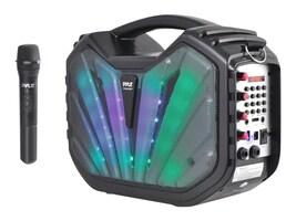 Pyle Portable BT Karaoke Speaker System w  DJ Flashing Lights, PWMA285BT, 33115197, Public Address (PA) Systems