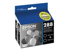 Epson Black 288 Ink Cartridges for XP430 (2-pack), T288120-D2, 32311874, Ink Cartridges & Ink Refill Kits - OEM