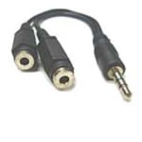 Professional 3.5mm Stereo Splitter Cable (M-F), ST35-SPLIT, 15449636, Cables