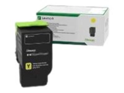 Lexmark Yellow Return Program Toner Cartridge for CS421dn, CS521dn, CS622de, CX421adn, CX522ade, CX622ade, 78C10Y0, 35795595, Toner and Imaging Components - OEM