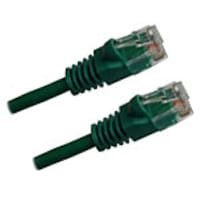 Professional Cat6 Gigabit UTP Cable with Boots, Green, 50ft, CAT6GN-50, 15605281, Cables