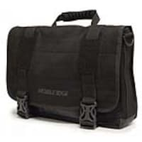 Mobile Edge Eco-Friendly UltraBook Messenger for 14.1 Notebooks, Black, MEUEM1, 15625038, Carrying Cases - Tablets & eReaders