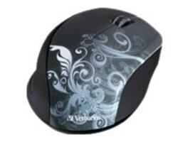 Verbatim Wireless Optical Mouse, Nano Receiver, Graphite, 97786, 14679801, Mice & Cursor Control Devices