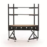 Kendall Howard Performance Corner Work Station, Caramel Apple, 5000-3-102-CR, 15702021, Computer Carts