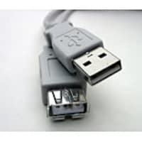 Professional USB Extension Cable (M-F), Gray, 10ft, USBX-10, 15736053, Cables