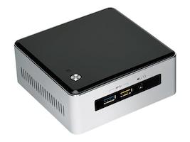 Intel Barebones, NUC Kit NUC5i3RYH UCFF Core i3-5010U 2.1GHz Max.16GB DDR3L 1x2.5 Bay M.2 PCIe GbE ac BT, BOXNUC5I3RYH, 18358730, Barebones Systems