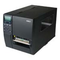 Oki LE850T Thermal Transfer Direct Thermal USB 2.0 + LAN Enterprise Label Printer w  Peeler & Rewinder, 62308408, 17931362, Printers - Label