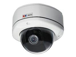 Acti KCM-7311 3.6x Zoom H.264 4-Megapixel IP D N Vandal Proof PoE Rugged Dome with P-Iris & ExDR, KCM-7311, 14890956, Cameras - Security