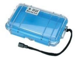 Pelican 1040 Clear Micro Case, Blue, 1040-026-100, 11747450, Protective & Dust Covers