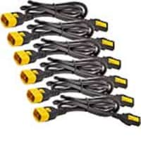 APC Power Cord Kit, (6) C13 to C14 Locking, 6ft (1.8m), AP8706S-NAX457, 16162119, Power Cords