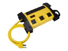 QVS Surge Protector 8-Outlets Wallmount Powerblock w  3ft Cord, PB8-03, 31175559, Surge Suppressors