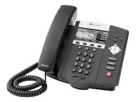 Polycom SoundPoint IP 450 Mid-Range SIP Desktop Phone with HD Voice, PoE Version, 2200-12450-025, 9192029, VoIP Phones