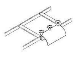 Chatsworth Runway Radius Drop for Cable Stringers (Universal, Black), 12101-701, 8038610, Premise Wiring Equipment