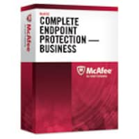 McAfee Acad. Govt. Chrty Complete EndPoint Protection for Business Lic 1-Year Gold Support 101-250 Users, CEBCDE-AA-DI, 16247307, Software - Antivirus & Endpoint Security