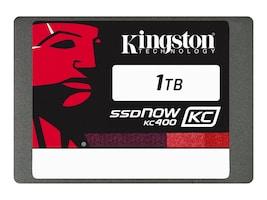 Kingston 1TB SSDNow KC400 SATA 6Gb s 2.5 7mm Internal Solid State Drive, SKC400S37/1T, 31158134, Solid State Drives - Internal