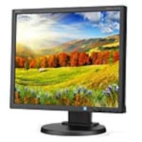 Open Box NEC 19 EA193MI-BK LED-backlit Desktop Monitor, Black w  IPS Panel and Integrated Speakers, EA193MI-BK, 33980439, Monitors