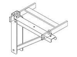 Chatsworth Triangular Support Bracket for 6 and 12 Runways, Steel, Black, 11746-712, 7825793, Premise Wiring Equipment