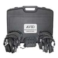 Avid AE-808 Listening Center w Jack Box, 4LC35S, 16706585, Headsets (w/ microphone)