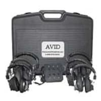 Avid AE-808 Listening Center w  Six-Position Jack Box & (6) Headphones, 6LC35S, 16706876, Headsets (w/ microphone)