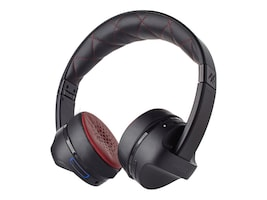 Ifrogz iFrogz AudioImpulse Headphones - Black Red, IFIMPH-BR0, 35866357, Headsets (w/ microphone)