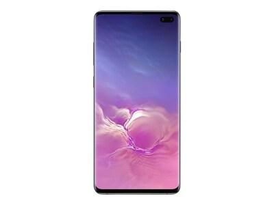 Samsung Galaxy S10+ Smartphone, 512GB, Ceramic Black (Unlocked), SM-G975UCKEXAA, 36749363, Cell Phones