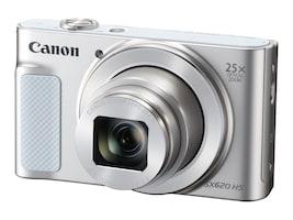 Canon PowerShot SX620 HS Digital Camera, 20.2MP, 25x Zoom, Silver, 1074C001, 34502324, Cameras - Digital
