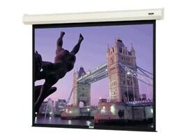 Da-Lite Cosmopolitan Electrol Projection Screen with LVC, Matte White, 1:1, 9' x 9', 40807L, 11287019, Projector Screens