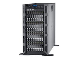 Open Box Dell PowerEdge T630 Tower Xeon 6C E5-2620 v3 2.4GHz 8GB 300GB SAS 16x2.5 HS Bays H730 DVD 4xGbE 495W, 463-3740, 32081503, Servers