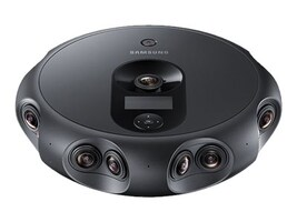Samsung 360 Round Professional VR Camera for Video Production, SM-R260NZKAXAR, 35525659, Cameras - Digital