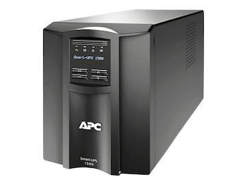 APC Smart-UPS 1500VA LCD 120V Tower UPS with SmartConnect, SMT1500C, 34677335, Battery Backup/UPS