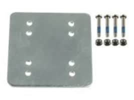 Ram Mounts 3 x 3 backer plate with AMPS and 2 x 2.5 with hardware, RAM-202-225BU, 31023627, Mounting Hardware - Miscellaneous
