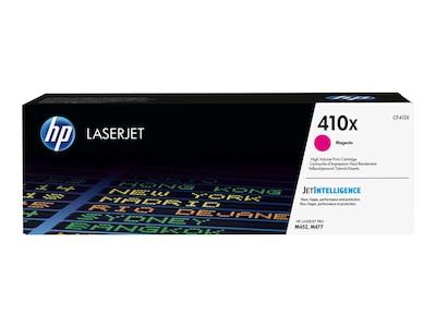 HP 410X (CF413X) High Yield Magenta Original LaserJet Cartridge w  JetIntelligence, CF413X, 30686103, Toner and Imaging Components - OEM