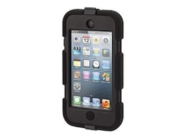 Griffin Survivor All-Terrain for iPod Touch 5th 6th Gen, Black, GB35694-3, 17750431, Carrying Cases - iPod