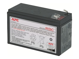 APC Replacement Battery Cartridge #2 for select BK and BP 250-500VA Models, RBC2, 55585, Batteries - Other