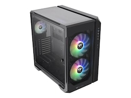 Thermaltake Chassis, View 51 Tempered Glass ARGB Edition, Clear, CA-1Q6-00M1WN-00, 38178576, Cases - Systems/Servers
