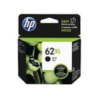 Open Box HP 62XL (C2P05AN) High Yield Black Original Ink Cartridge, C2P05AN#140, 36689313, Ink Cartridges & Ink Refill Kits - OEM