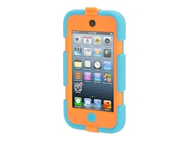 Griffin Survivor All-Terrain for iPod Touch 5G 6G, Turquoise Flouro Orange, GB36268, 34129671, Carrying Cases - iPod