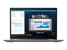 Lenovo ThinkPad x390 Yoga Core i5-8265U 1.6GHz 8GB 256GB PCIe ac BT FR WC 13.3 FHD MT W10P64 Silver, 20NN0019US, 36810742, Notebooks - Convertible