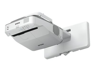 Epson PowerLite 675W WXGA 3LCD Projector, 3200 Lumens, White, V11H745520, 33520037, Projectors
