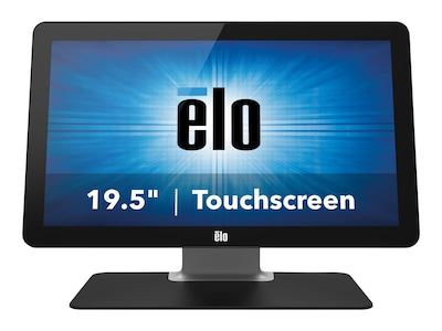 ELO Touch Solutions M-Series 2002L LED Monitor 19.5 FHD MT, Black, E396119, 32105430, Monitors