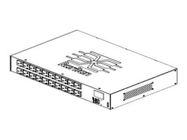 Raritan PDU 1.9kVA 120V 16A 1-phase 2U  L5-20P Input (20) 5-20R Outlets, PX3-5407R, 18004384, Power Distribution Units