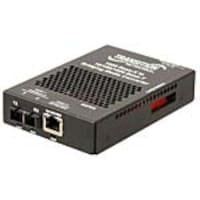 Open Box Transition 10 100 1000Base-T to 1000Base-X SM SC 10K Media Converter, SGFEB1014-130-NA, 35617318, Network Transceivers